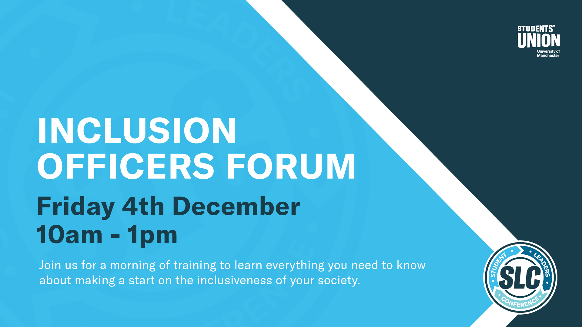 Inclusion Officers Forum