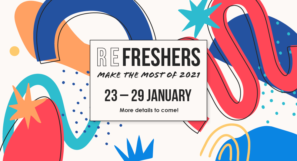 Refreshers: Make the Most of 2021. 23 - 20 January. More details to come.
