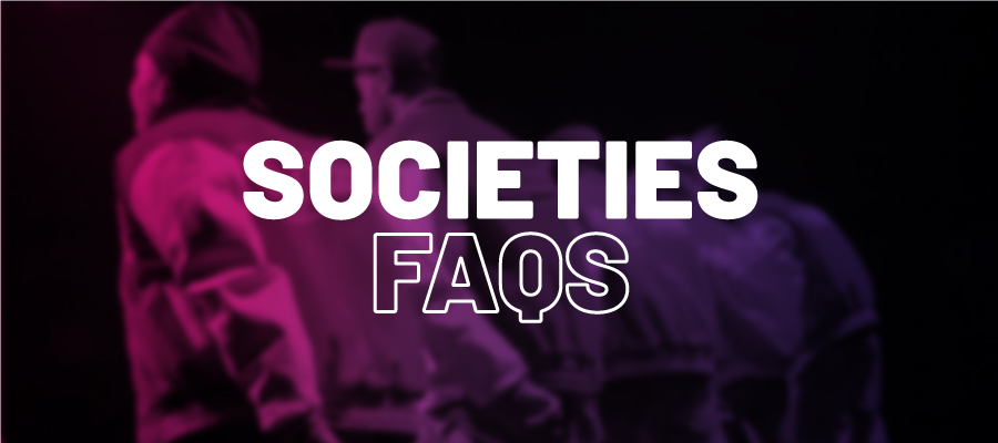 Societies FAQs
