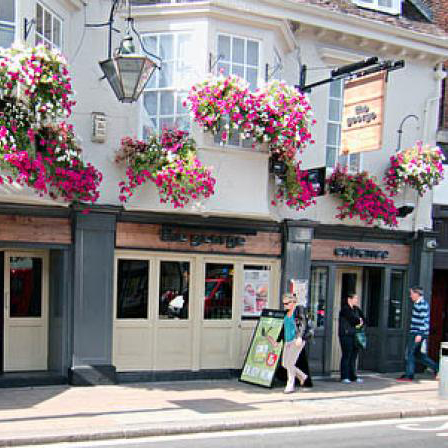 An image of the George Pub in Twickenham