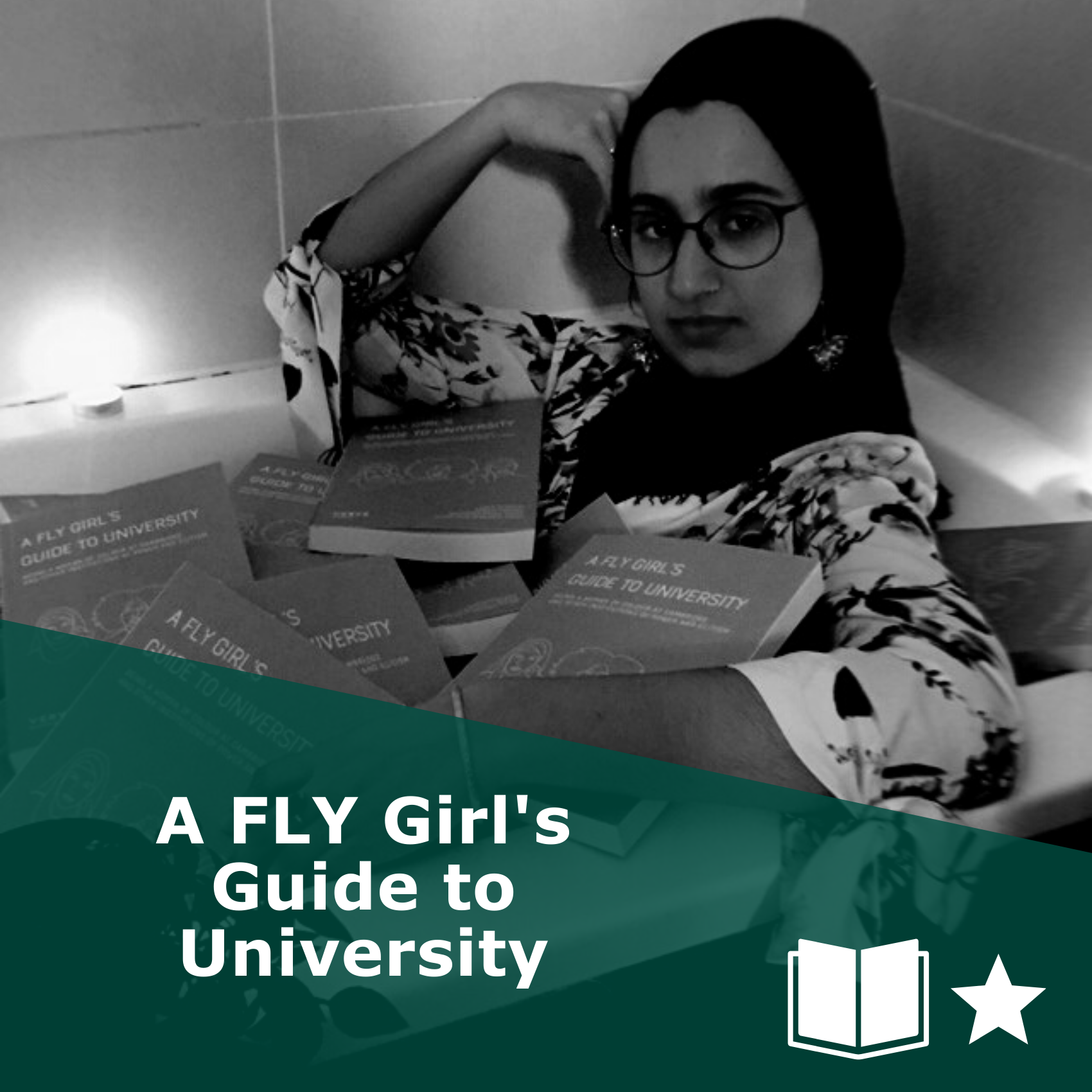 Picture of 'A FLY Girl's Guide to University'. It is a book, rated one star.