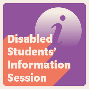 Disabled students session