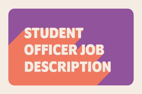 Student officer job description