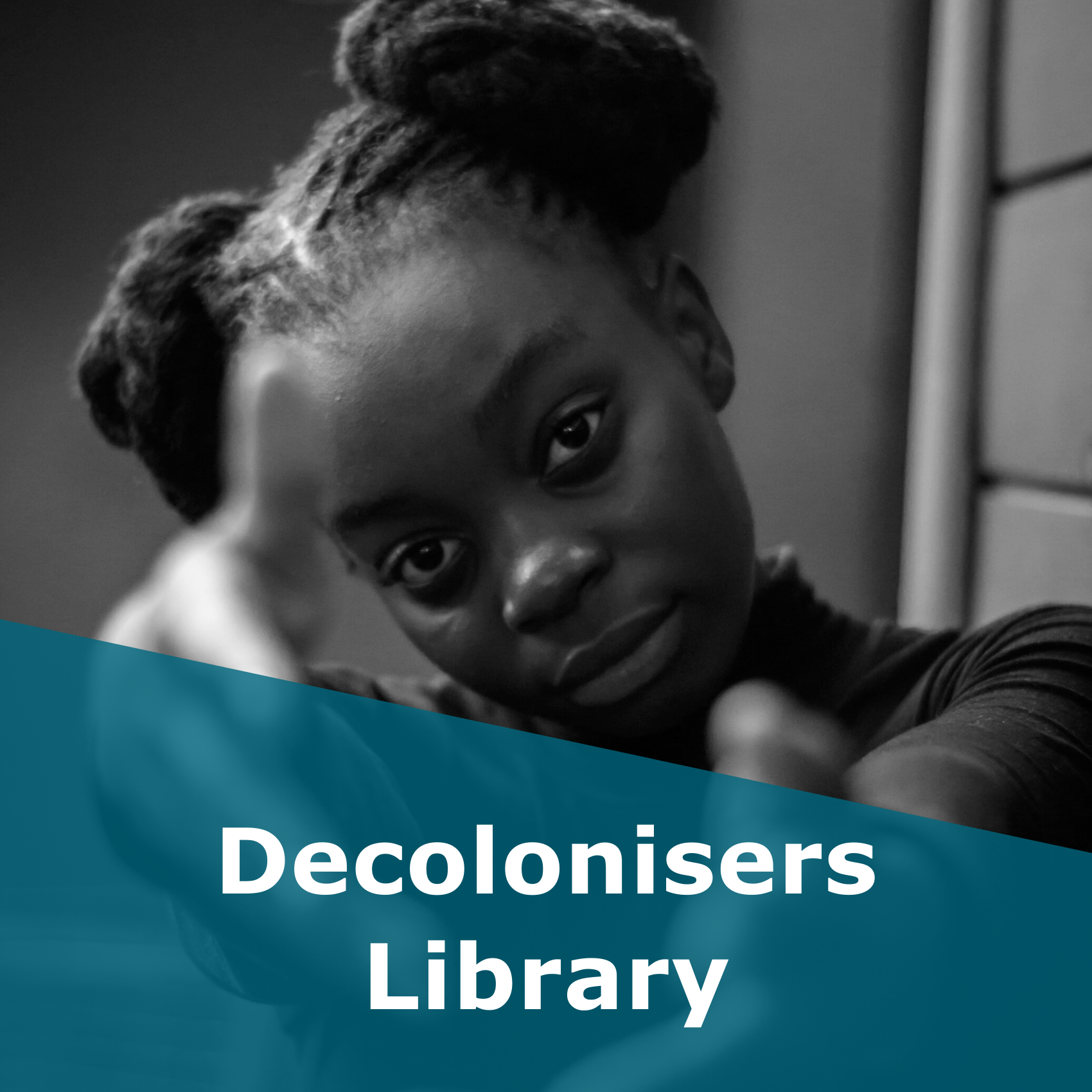 Button to the Decolonisers Library