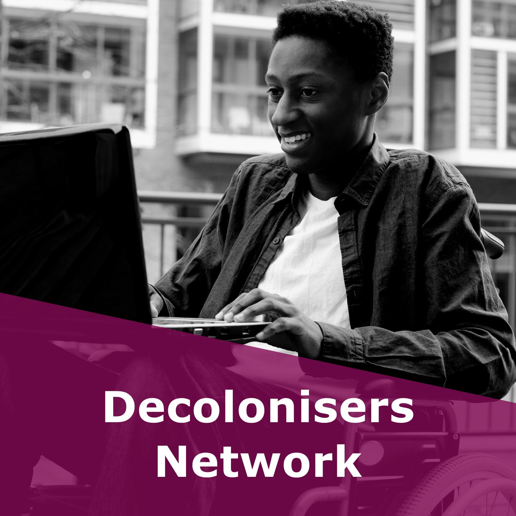 Button to the Decolonisers Network