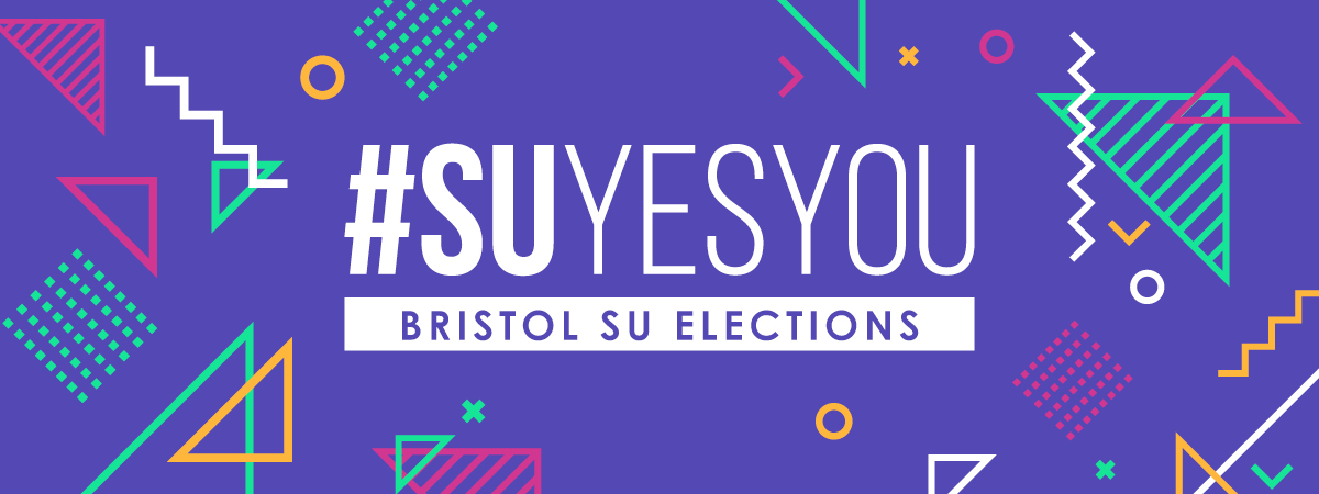 #SUYESYOU banner advertising elections 2020