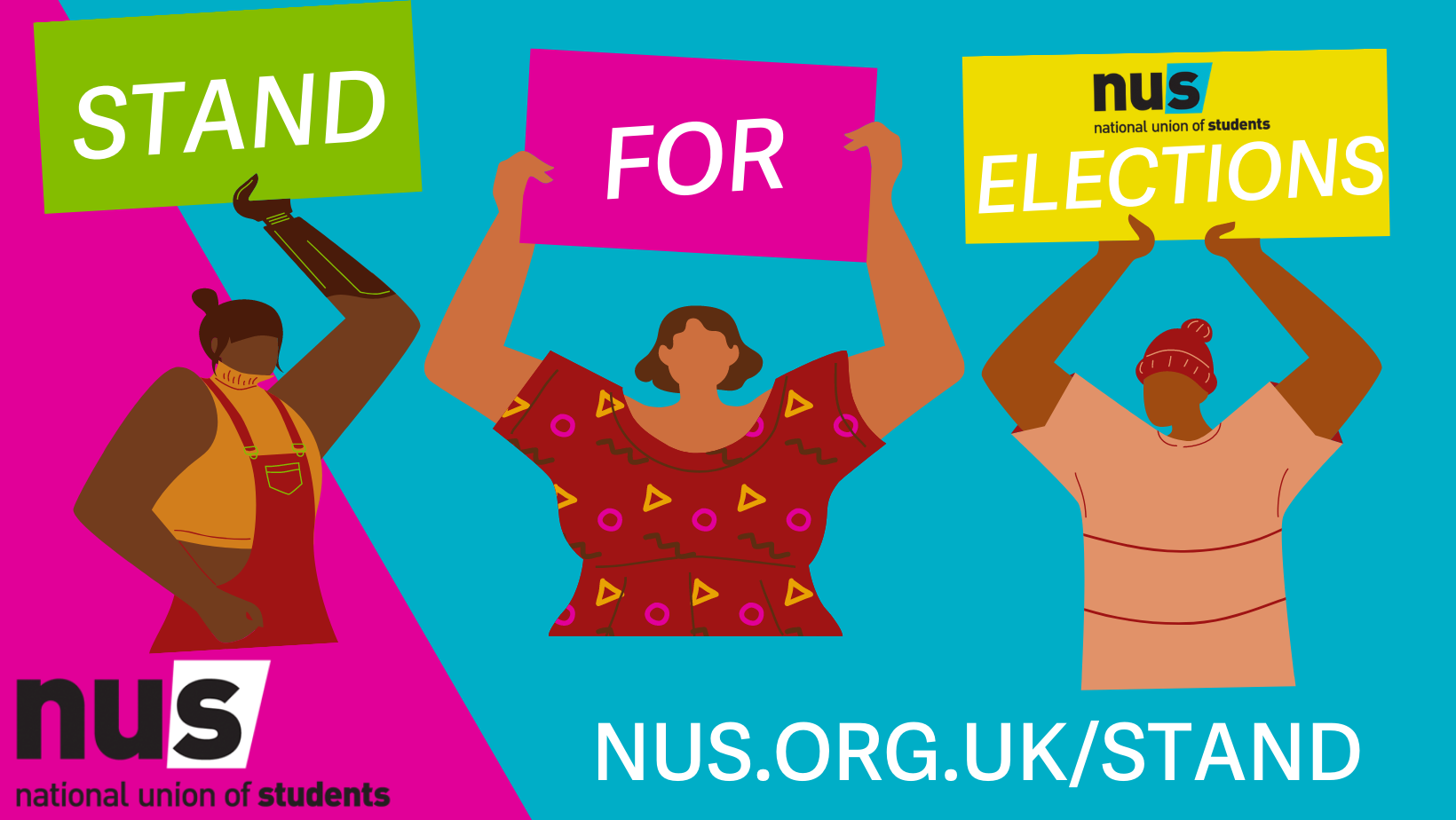 Stand for Elections Banner