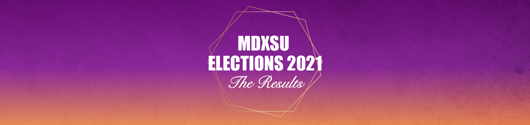 MDXSU Elections 2021 - The Results