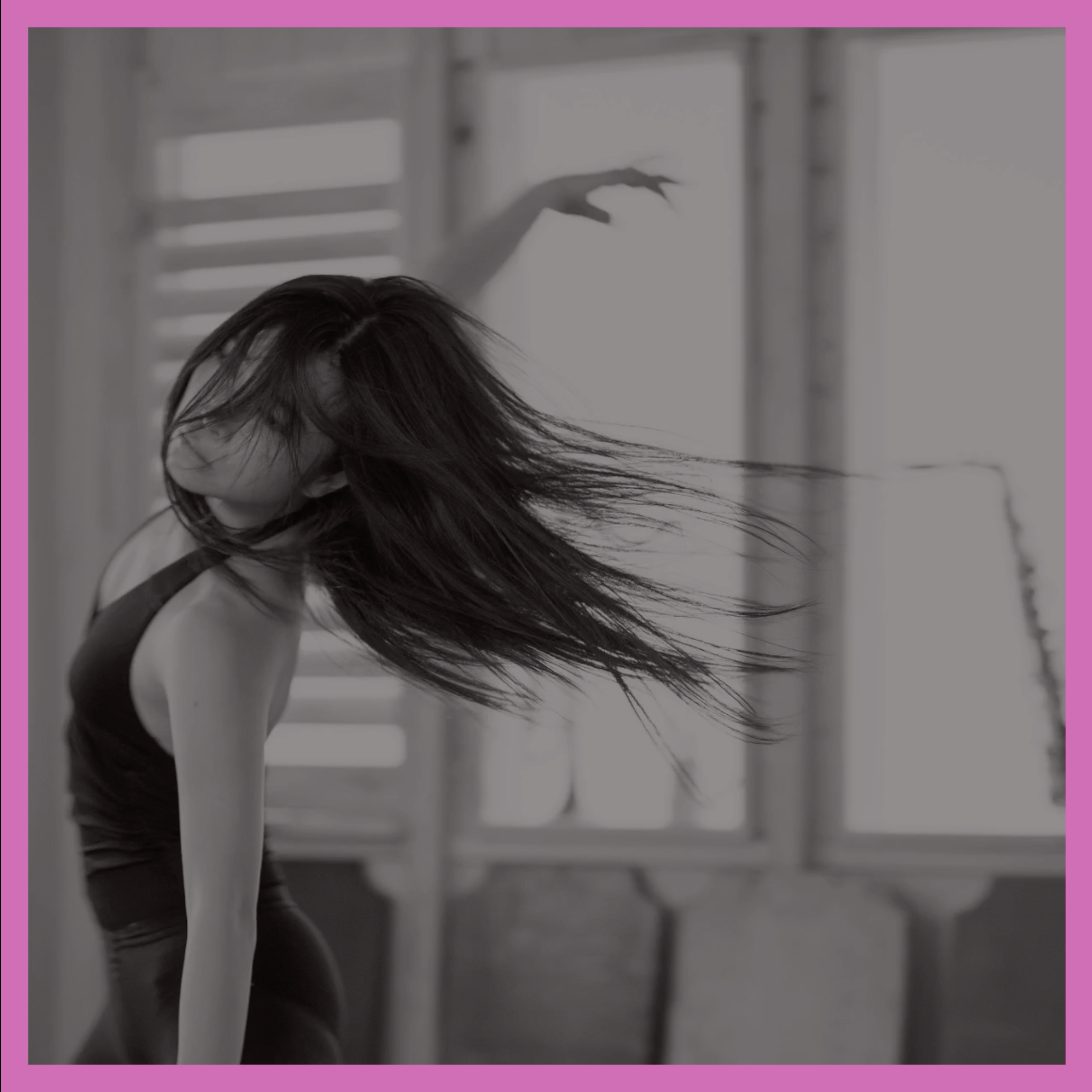 An image of a student doing contemporary dance