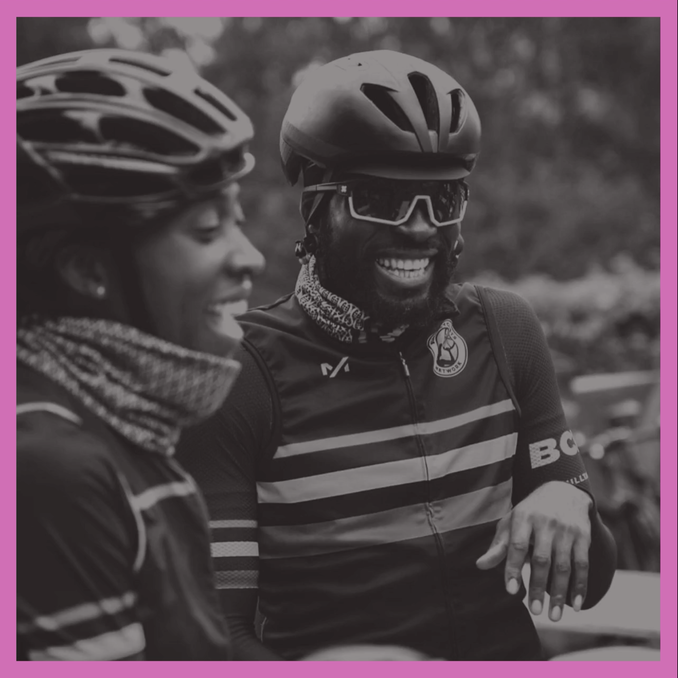 An image of Liyana from the Women's Cycling Network