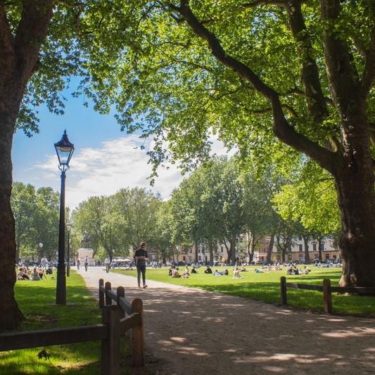 photo of a Bristol park