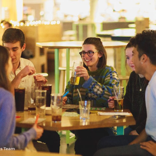 Photo of people at Bingo in The Balloon Bar