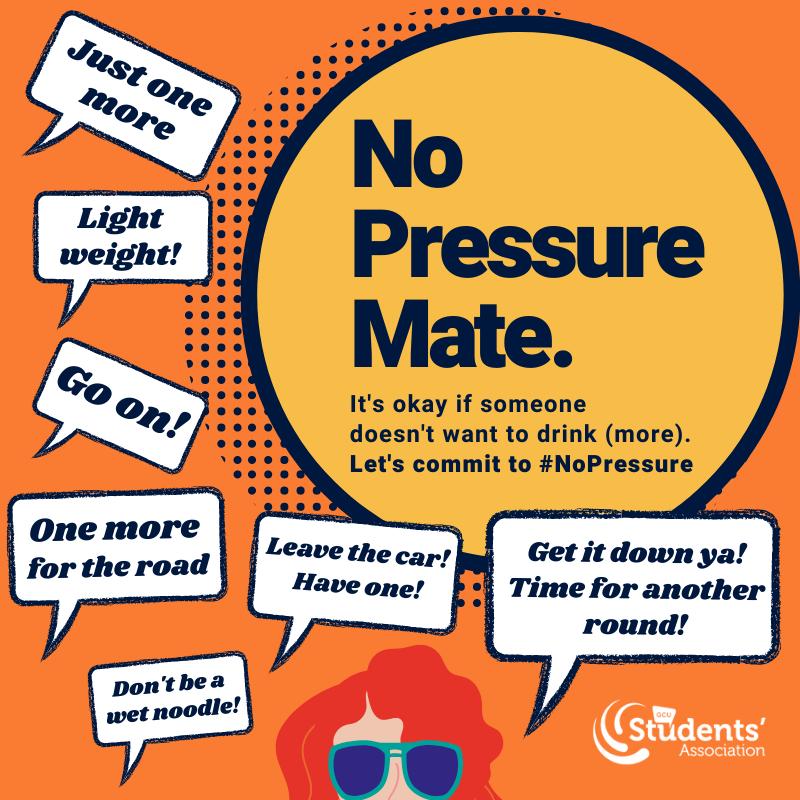 No Pressure Mate Graphic