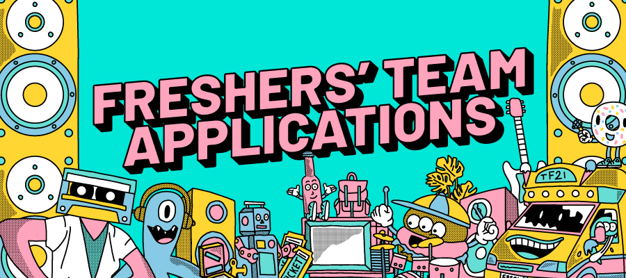 Freshers' Team Applications