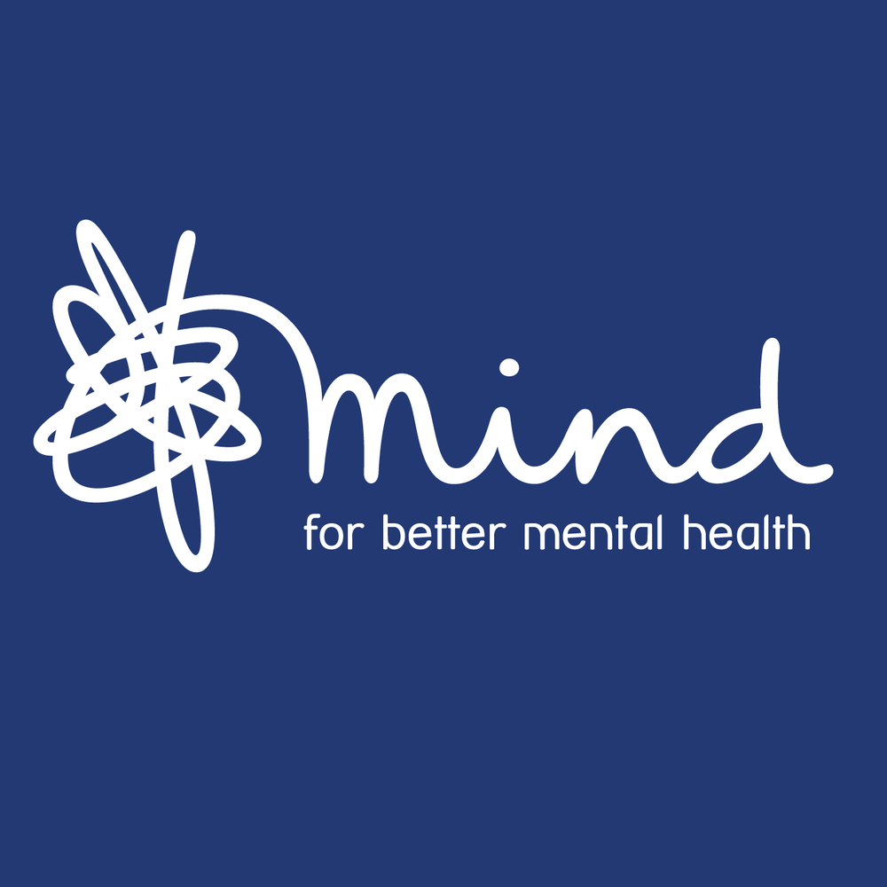 mind logo with text: 'for better mental health'