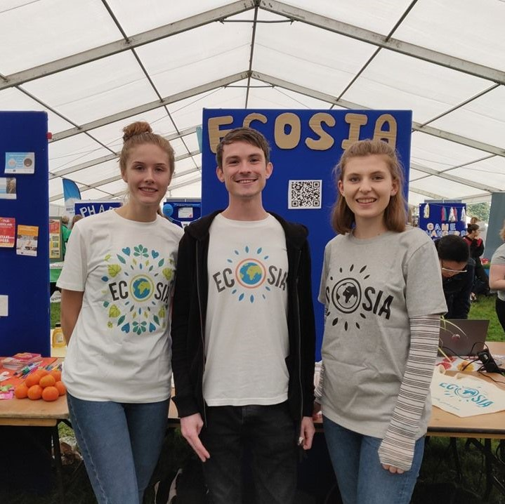 Photo of the Bristol on Ecosia team at the welcome fair