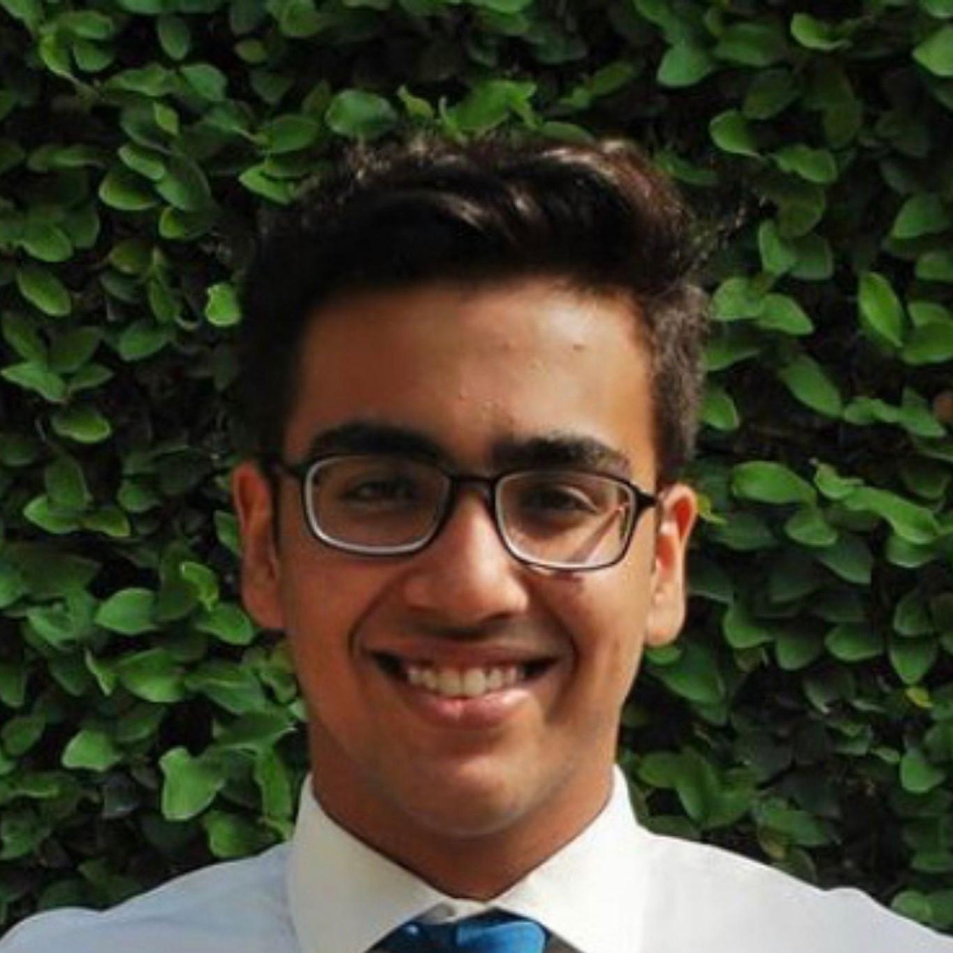 Photo of Muazam smiling