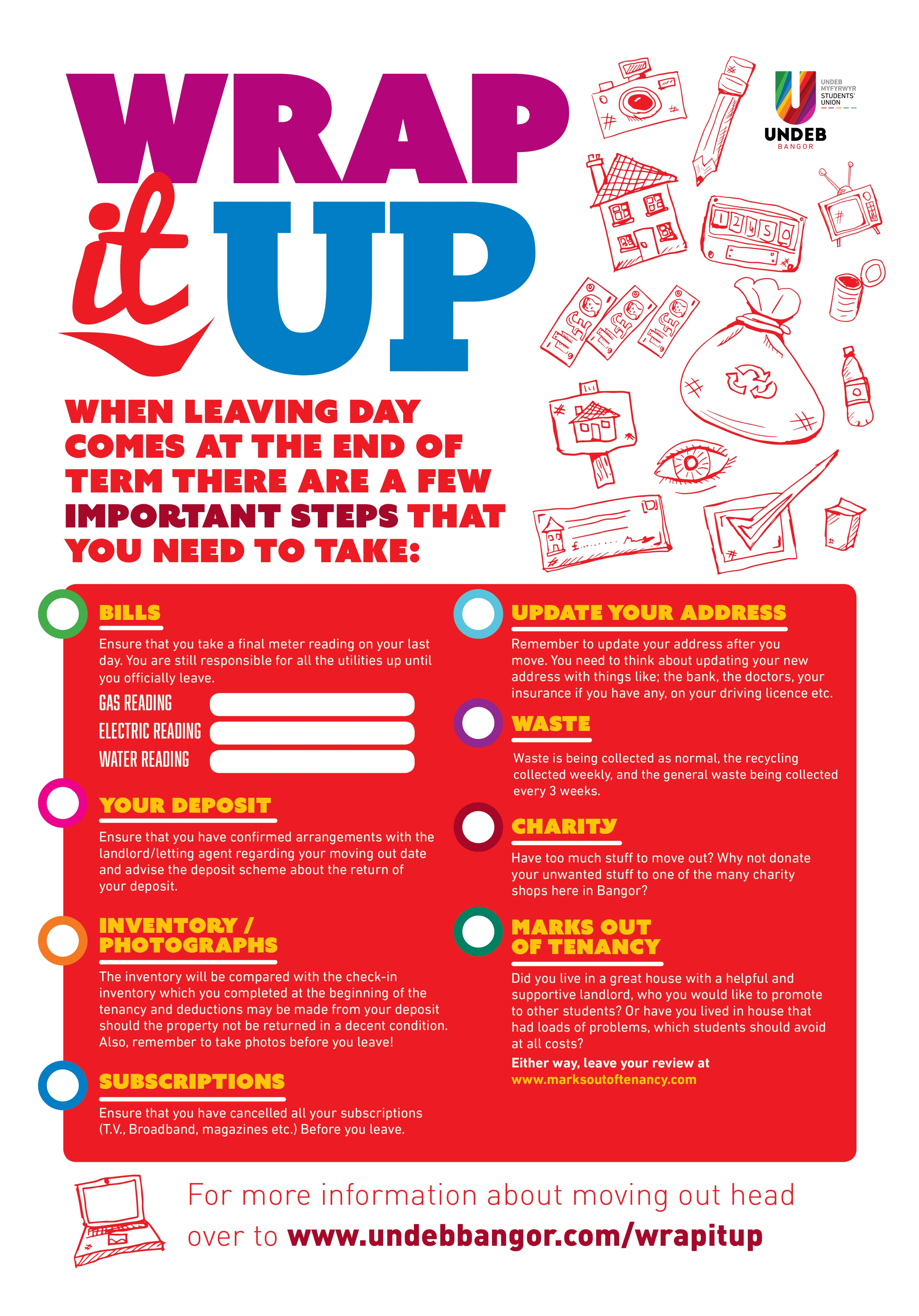 The Wrap it Up Campaign Poster