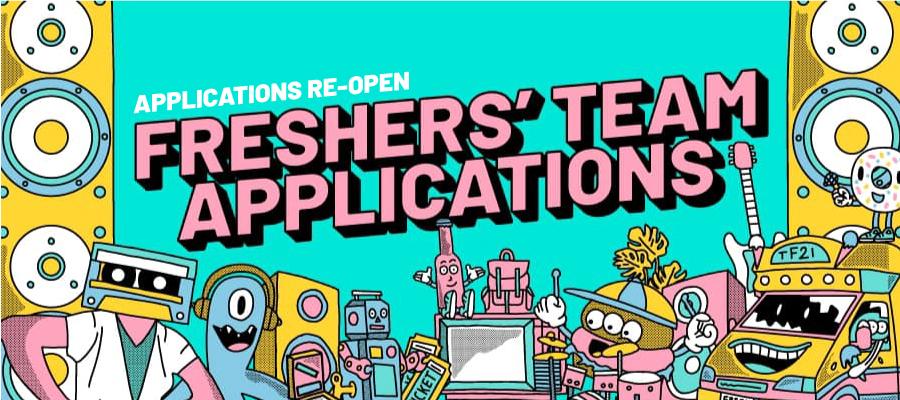 Freshers' Team Applications