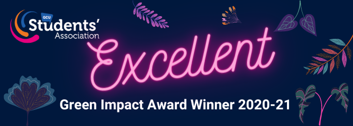 Excellent in the Green Impact Awards Banner