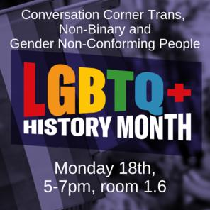 Conversation corner trans  non binary and
