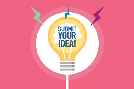Make it happen submit your idea