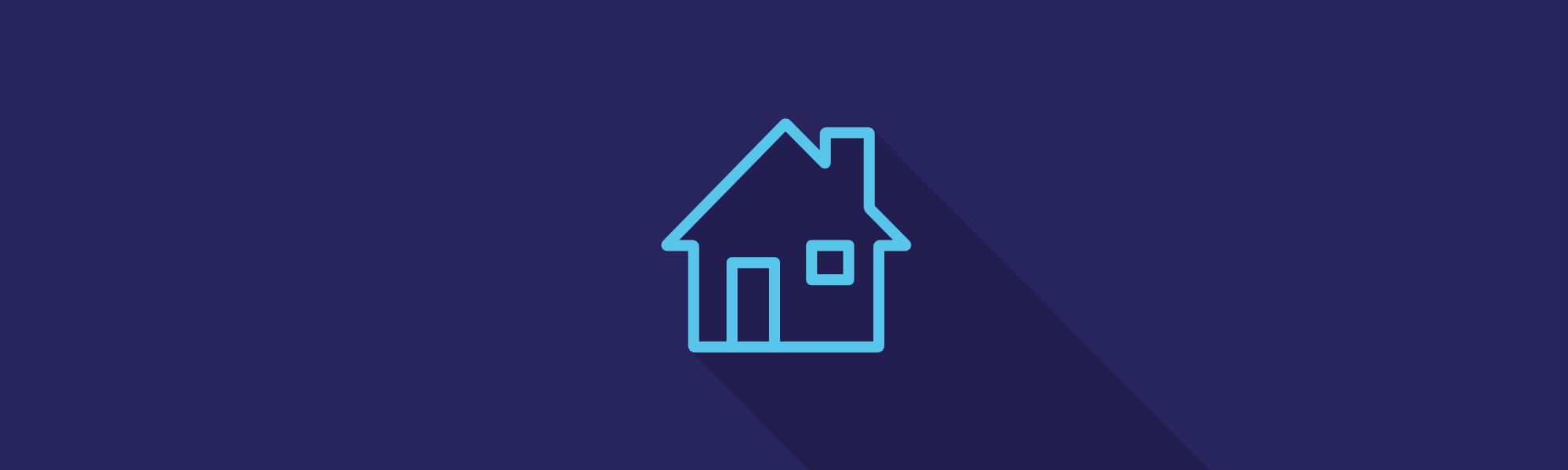 Full width banner viewing properties