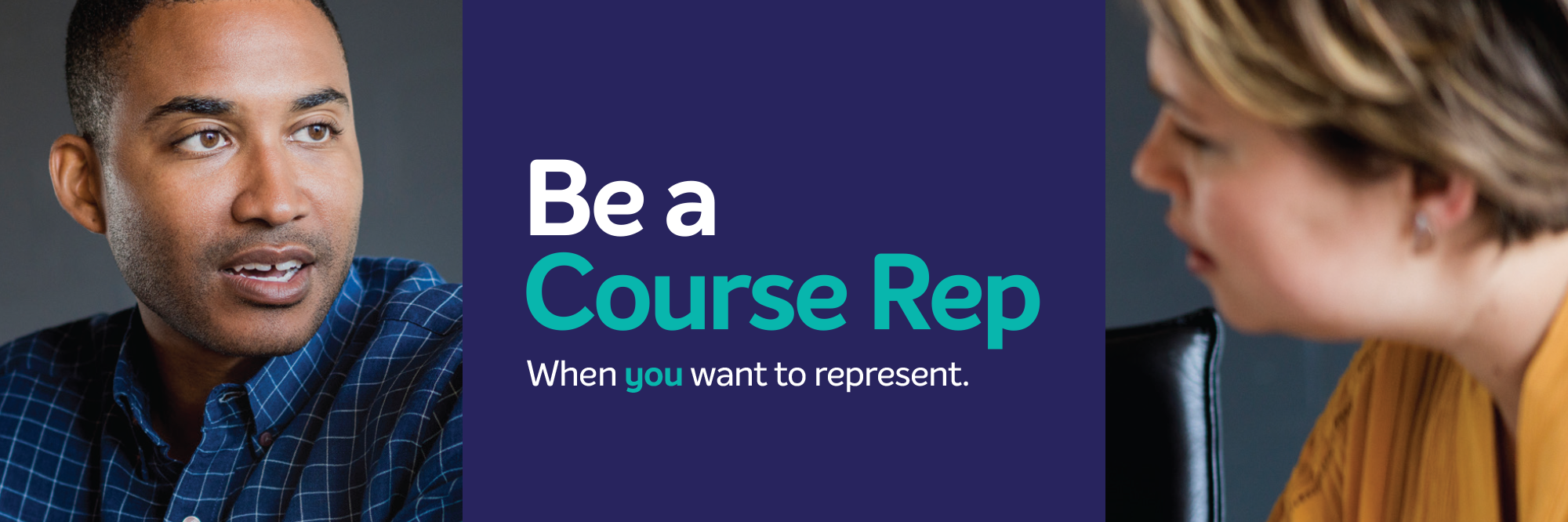 Course rep homepage scroller