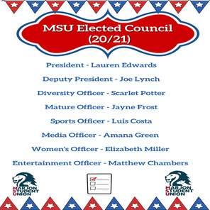 Msu elected council