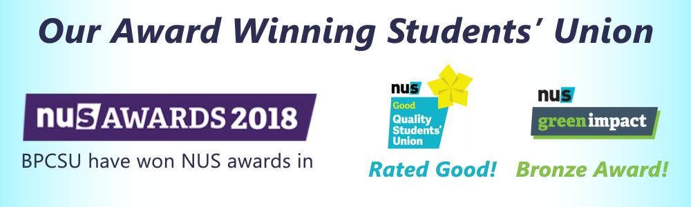 Nus awards banner