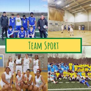 Team sport website