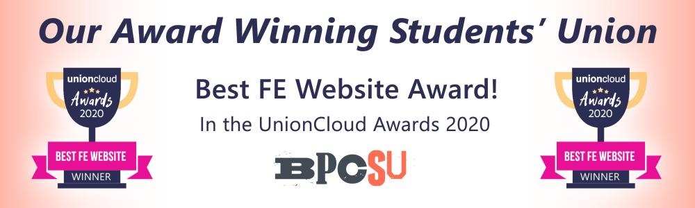 Best fe website award banner