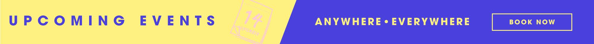 Arrvials events   website ad