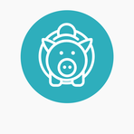 Icons website blue circle bckgr student finance