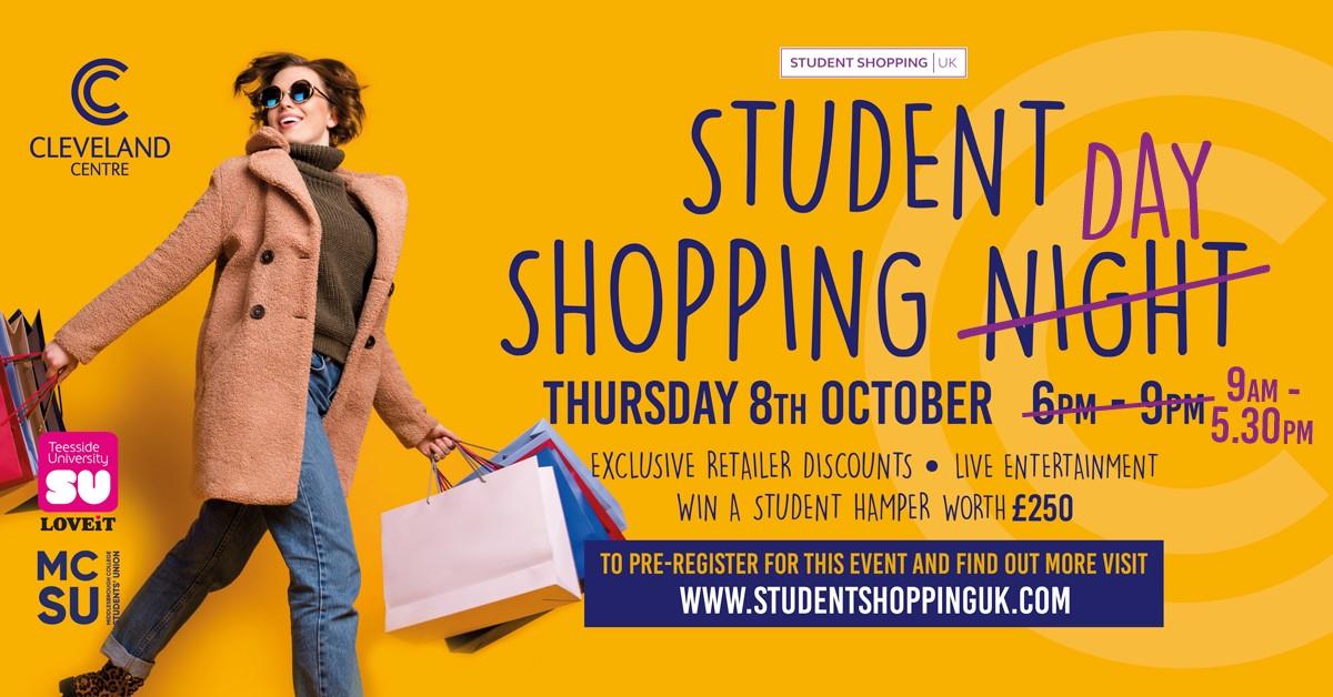Student shopping night plasma