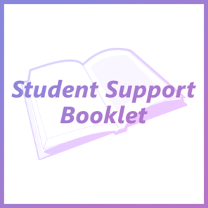 Student support booklet tile
