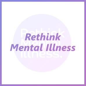 Rethink mental illness tile
