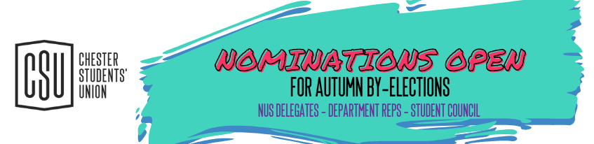 Autumn election banner