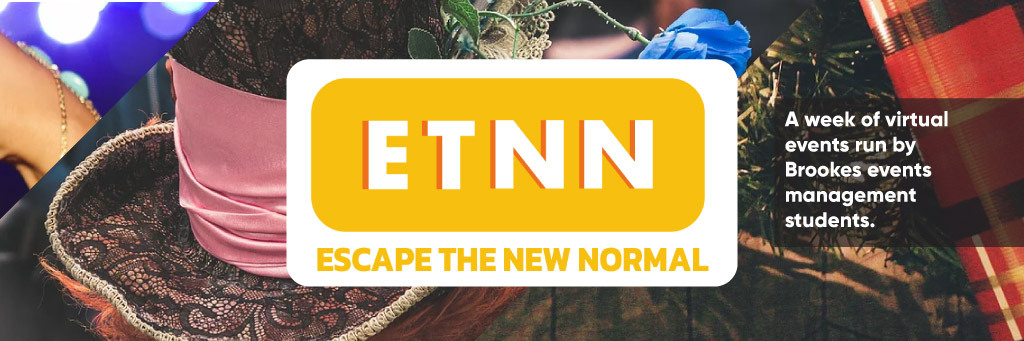 Escape the new normal event web banner