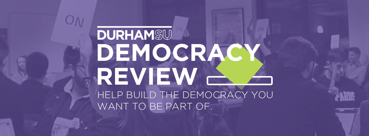 Democracy review homepage banner