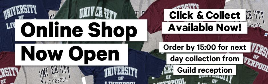 Online shop open homepg banner