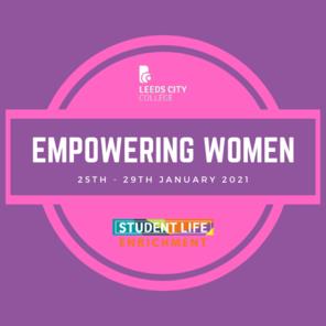 Empowering women event pink   purple