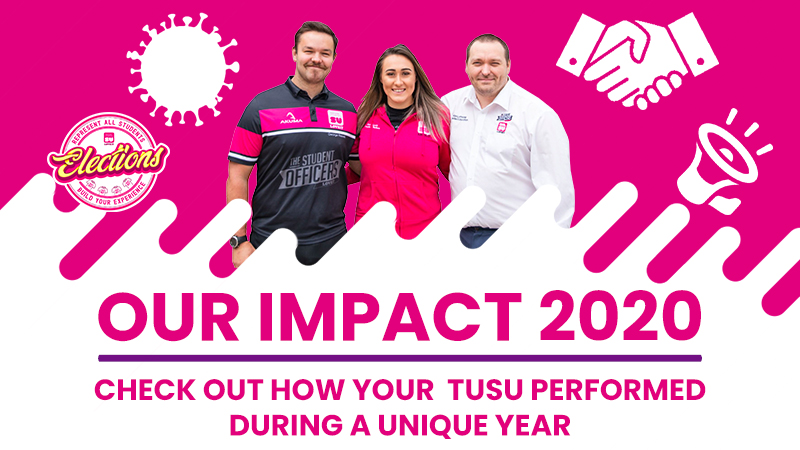 Our impact mobile banner