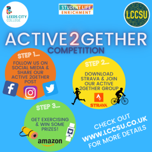 Active 2gether square poster