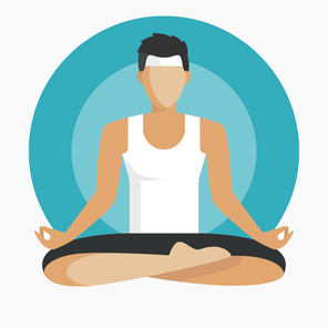 Web icons student wellbeing main yoga