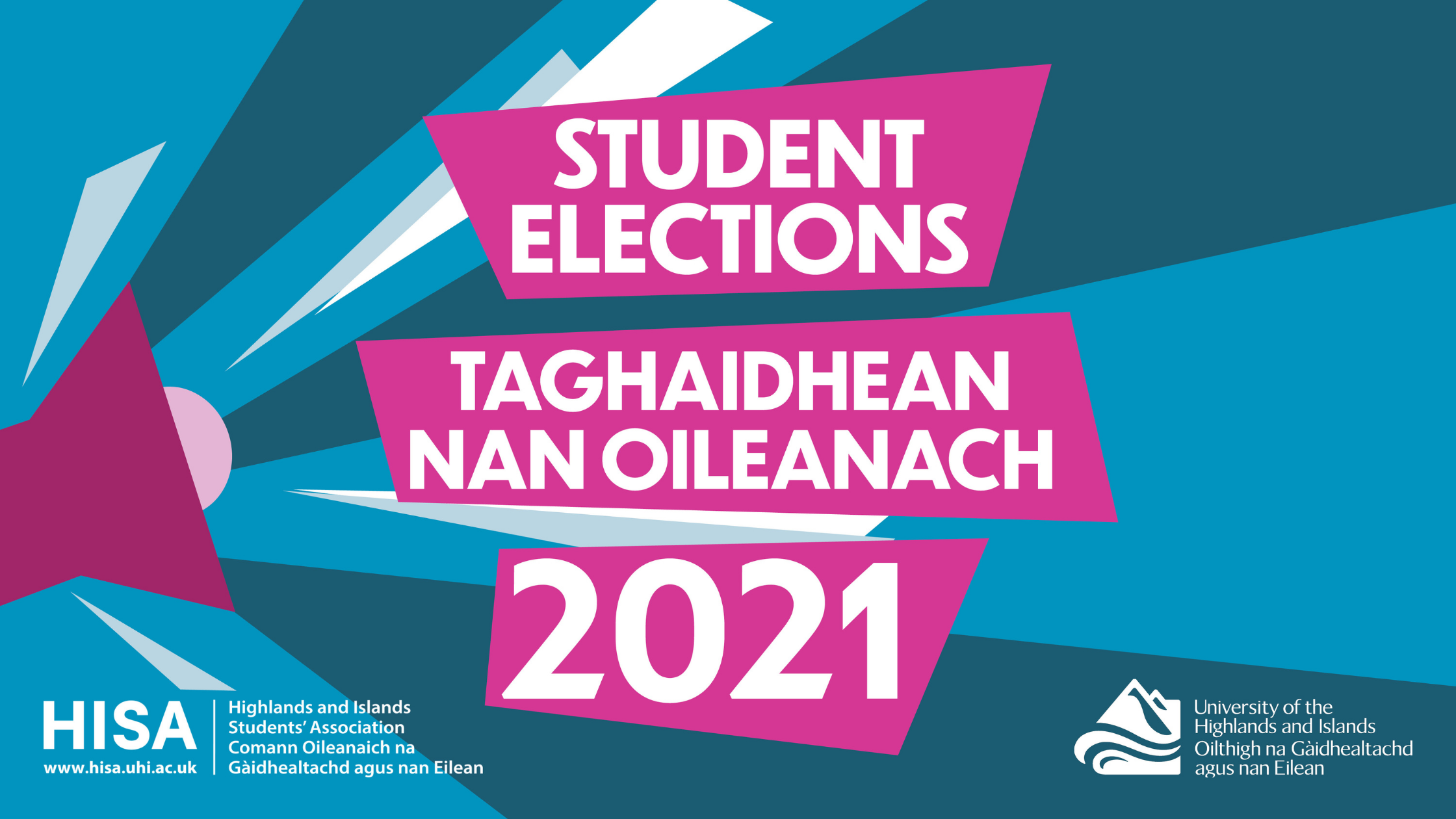 Student elections web banner