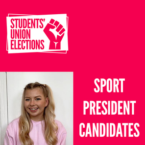 An image of talya nisbet who is the candidate for sport president in the smsu elections