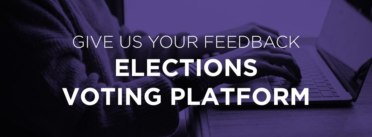 Voting platform feedback