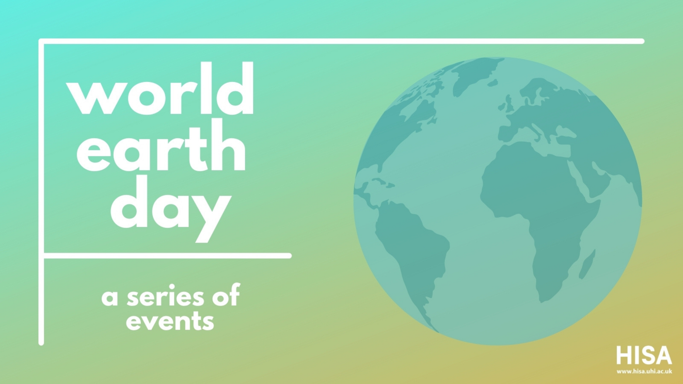 World earth day banner