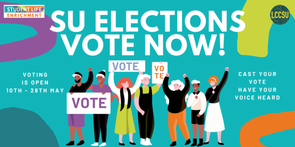 Website banner elections vote now